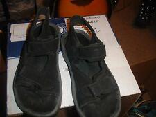 L.L. Bean black women's sandals size 8 1/2 medium in excellent condition.