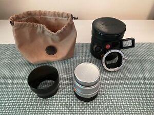 Leica Macro-Elmar-M 90mm f/4 lens + Macro adapter