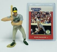 MARK MCGWIRE - Oakland A's - MLB Kenner Starting Lineup SLU 1988 Figure & Card