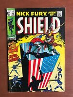 Nick Fury, Agent of SHIELD #13 (1969) 7.0 FN Marvel Key Issue Silver Age Stan Le
