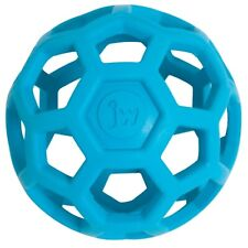 JW Pet HOLEE ROLLER BALL Dog Chew Treat Fetch Bouncy Toy MEDIUM 5 inch