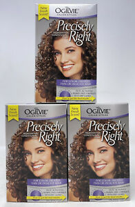 [3 PACK LOT] Ogilvie Precisely Right Perm: for Color-Treated Thin/Delicate Hair