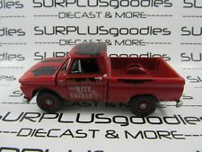 Johnny Lightning 1:64 Scale LOOSE Weathered Red 1965 CHEVROLET C10 Pickup Truck