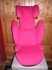 Sommerbezug Schonbezug Frottee f. Cybex Solution M, M-Fix, S-Fix, M SL NEU pink