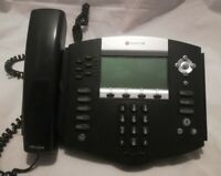 Polycom SoundPoint IP 650 IP650 SIP 2201-12630-001 Phone with Stand & Handset