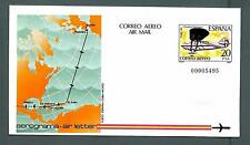 """SPAIN - SPAGNA - 1982 - PA - 20 pt - Volo del """"Cuatro Vientos""""-Spagna-Cuba-Mexic"""