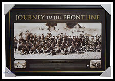 Anzac Print Framed - Journey to the Frontline Official War Memorabilia $299
