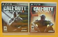 Call of Duty Black Ops II III 2 3 Game Lot PS3 Sony Playstation 3 Works Tested