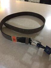 G.H. Bass Men's Brown Tan Leather belt size 38