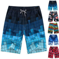 Mens Hawaiian Swim Boardshorts Surf Shorts Beach Sports Pants Trunks Swimwear