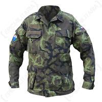 Original Czech Field Jacket Model 95 - Genuine Military Army Surplus Uniform Top