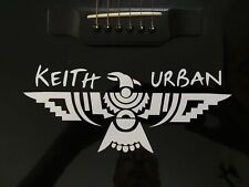 "KEITH URBAN Phoenix Decal 4""x 8.5""."