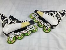 Mission Boss The Syndicate Men's Hockey Roller Skates Trinity Wheels Size 12 D