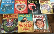 Mad Magazines, Complete 1959 seven-issue set, Nos. 44-50, very good, rare