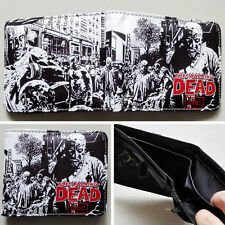 AMC The Walking Dead LOGO Wallet Unisex PU Leather Cosplay Purse
