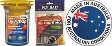 Fly Trap Large Area - GEPRO Amazing MAGNA Outdoor Fly Trap