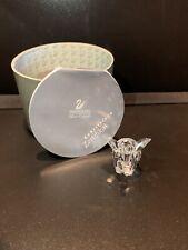 Swarovski Crystal Small Baby Elephant Figurine Original Box 7640 NR 040 Austria