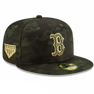 Boston Red Sox New Era 59Fifty Armed Forces 7 1/8 Fitted Cap Hat $40