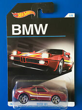 2016 Hot Wheels 100 YEARS OF BMW - 1981 BMW M1 E26 race car - mint on long card!