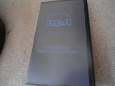 RCA: Introducing 1984 Video Systems CED * Homemade* VHS