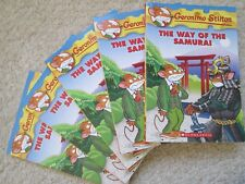 THE WAY OF THE SAMURAI~Geronimo Stilton 49~GUIDED READING LOT 5~