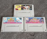 Nintendo Super Famicom [Parodius da] [Gokujo Jikkyo Parodius] 3 Set w/Tracking#