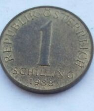 -1 1834. 1 schilling  1988 Austria