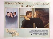 Robert De Niro Uma Thurman Mad Dog and Glory 1993 original lobby card 079