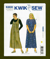 NEW! Woman's Jumpers & Shirts Sewing Pattern (Plus Sizes 1X-4X) Kwik Sew 2836