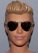 Accessory - Fashionista Model Muse Ken Doll Gold Mirror Aviator Sunglasses