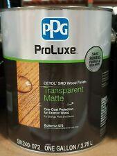 Ppg Proluxe Cetol Srd Transparent Matte 1 Gallon 7 Colors Available