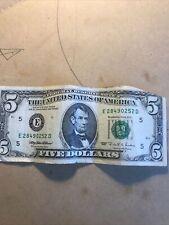 More details for 1995 five dollars banknote