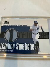 New listing 2003 Upper Deck Leading Swatches Yankees Alfonso Soriano Game Used