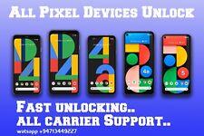 Google Pixel Carrier Unlock Service All model support (not Permanent) Read list