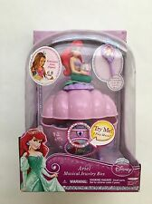 NEW Disney Princess Ariel's Musical Jewelry Box - Little Mermaid