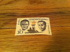 Ceskoslovensko Jan Nalepka Antonin Sochor Czech Republic Czechoslavakia Stamp