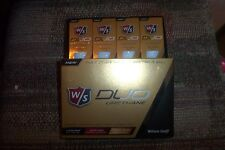 2 dozen BRAND NEW 2016 Wilson Staff  Duo Urethane  golf balls