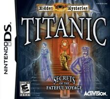 Hidden Mysteries Titanic NDS New Nintendo DS