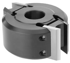 MTL 50mm Wide x 120mm Dia. x 30mm Euro Spindle Moulder Cutter Block + 00 Knives