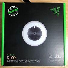 NEW Razer Kiyo Full HD 1080p Streaming Webcam With Ring Light - Fast Ship!