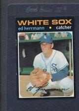 1971 Topps #169 Ed Herrman White Sox EX *3059