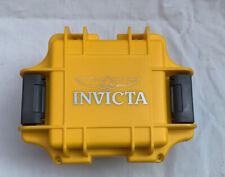 Invicta Watch Box DC1YEL Invicta Watch Box With Foam Inserts