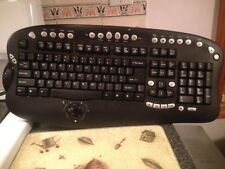 Vintage Cordless Office Keyboard Model No Ez-7000 Battery Operated