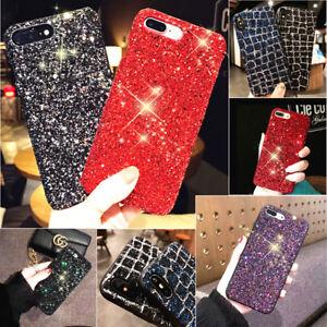 Luxury Shockproof Bling Glitter Hybrid Case Cover For iPhone SE 2 7 8 6 Plus 6S