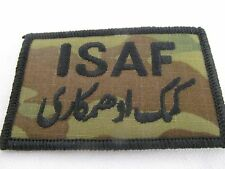 US Military Multicam ISAF Patch OCP Camo Combat Uniform Iraq Afghanistan MZ0502B