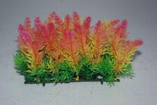 Artículos de decoración de plástico de color principal multicolor para acuarios