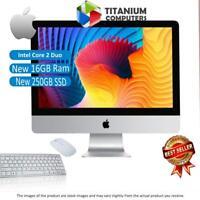 APPLE IMAC 21.5-INCH 3.06GHZ C2D LATE-2009 NEW 16GB RAM 250GB SSD MAC OSX SIERRA
