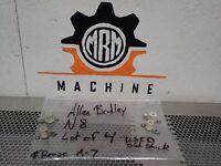 Allen Bradley N8 Overload Heater Elements Used With Warranty (Lot of 4)