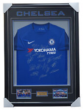Chelsea Signed 2017 18 Team Signed Jersey Framed - 2018 FA Cup Champions  Hazard 2d4dcbbbf