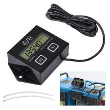 Motorcycle LCD Race Digital RPM Tach Hour Meter Tachometer Gauge Spark